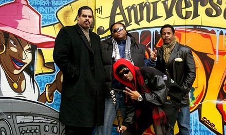 OG's Holla-Ween w/ Sugarhill Gang, Grandmasters Furious Five, Kool Moe Dee, and more on Friday, October 30, at 8 p.m.
