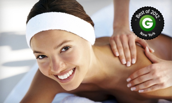 Vada Spa - West Village: 60-Minute Swedish Massage with Options for Organic Seaweed Facial and Mani-Pedi at Vada Spa (Up to 57% Off)