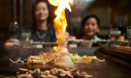 Chinese Food, Sushi, and Hibachi Entrees for Two or Four or More at Wasabii (50% Off)