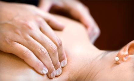 Consultation, Adjustment, and Massage or Three Massages at Discover Health & Wellness (Up to 83% Off)