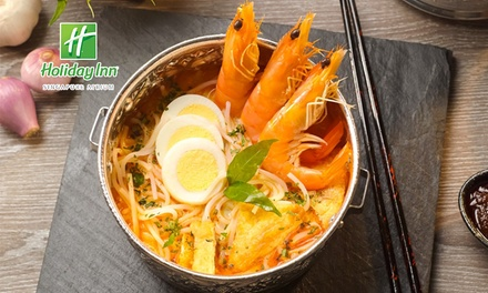 Harvest of the Sea Buffet for $35.20 at Holiday Inn Singapore Atrium (worth...