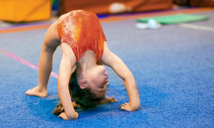 Us Too Kids - Irvine Industrial Complex-East: Kids' Gymnastics Classes at Us Too Kids (51% Off). Three Options Available.