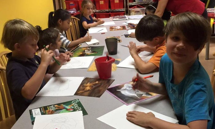 Spark! Family Enrichment Center - Oviedo: One Month of Oil Painting Classes for Kids at Spark Family Enrichment Center (45%