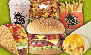 Del Taco: $5.50 for $10 Worth of Made-to-Order Fresh Mexican and American Food at Del Taco