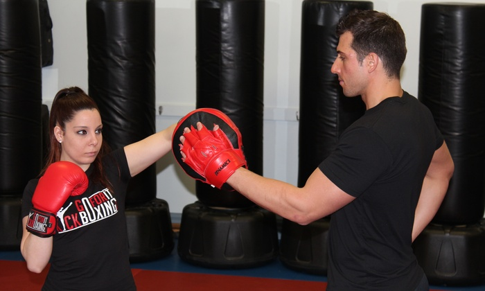 GoForItKickboxing.com - Dinoto Karate: 5 or 10 Kickboxing Classes from GoForItKickboxing.com (Up to 80% Off)