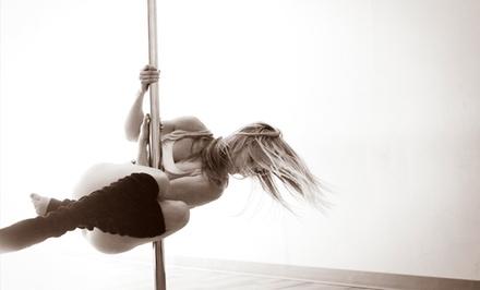 Pole-Dance Workshop or Six-Week Pole 101 or Boudoir 101 Class Series at Divine Movement Pole Dancing (50% Off)