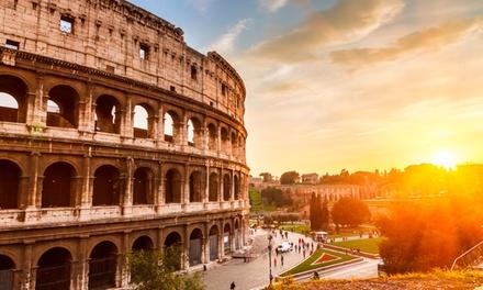 ✈ Rome: 3 of 4daagse reis inclusief retourvlucht vanaf Eindhoven en verblijf in centraal gelegen 3* hotel met ontbijt