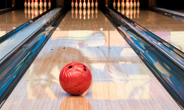 Surf Bowl - Surf Bowl: Bowling Package for Two, Four, or Six with Appetizers and Small Drinks at Surf Bowl (Up to 57% Off)