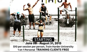 Train Harder University LLC: Up to 65% Off sports training at Train Harder University LLC