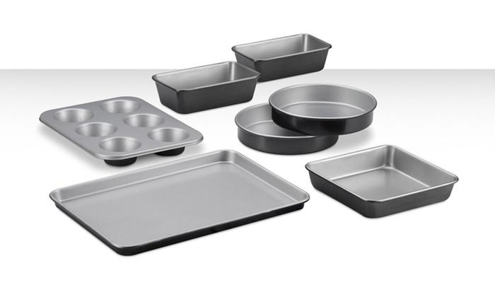 Cuisinart 7-Piece Nonstick Bakeware Set: Cuisinart 7-Piece Nonstick Bakeware Set. Free Shipping and Returns.