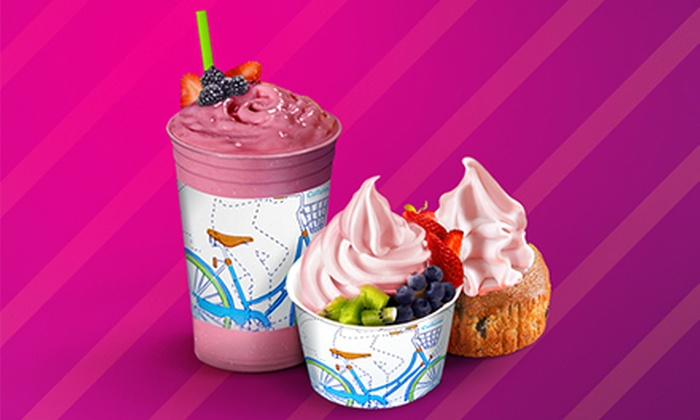 OrangeCup - Multiple Locations: $9 for a Three-Visit Punch Card, With Each Punch Good for $6 Worth of Frozen Yogurt at OrangeCup ($18 Total Value)