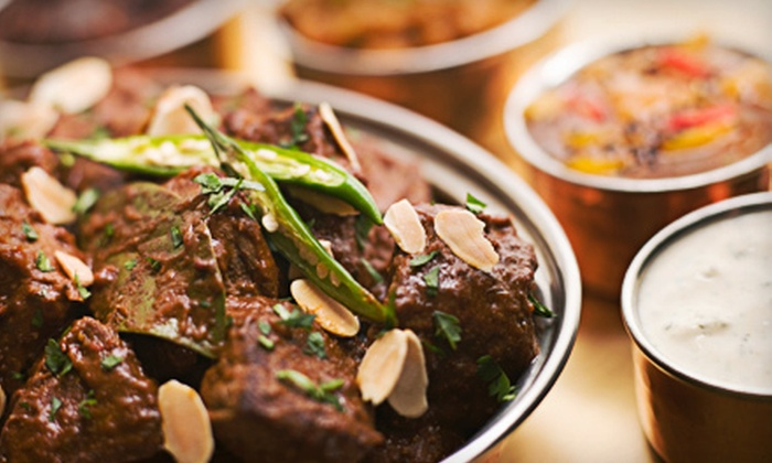 Touch of India - Garment District: Thali Dinner for Two or Four, or Lunch Buffet for Two at Touch of India (Up to 65% Off)