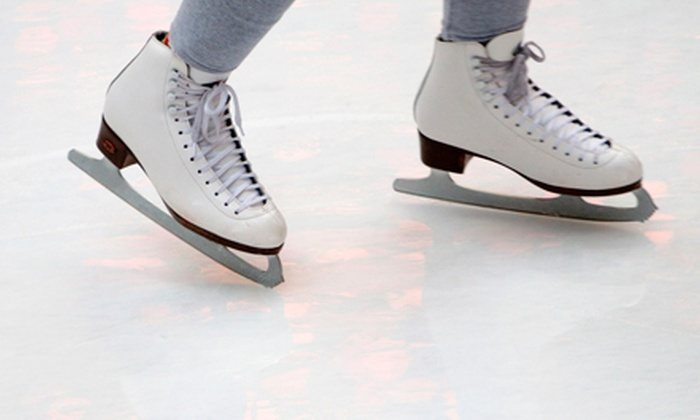 Utah Olympic Oval - Snyderville: Open-Skate Admission for 5 or 10 with Skate Rentals at Utah Olympic Oval (Up to 54% Off)