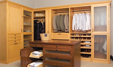 $199 for $500 Toward Custom Closets and Other Storage Systems from SpaceMan Home & Office