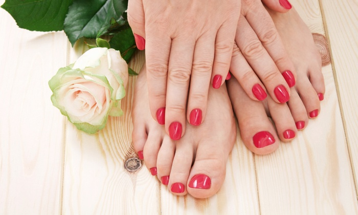Troutman's College of Manicuring - North Hills: Mani-Pedi with Massage and Polish for One or Two at Troutman's College of Manicuring (Up to 52% Off)
