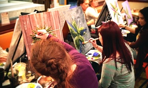 Paint With Palette: Painting Party for One or Two at Paint With Palette(Up to 47% Off)