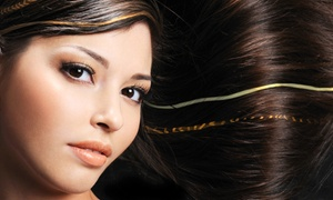 The Illusionist Hair Salon: Brazilian Blowout with Option for Haircut at The Illusionist Hair Salon (Up to 59% Off)