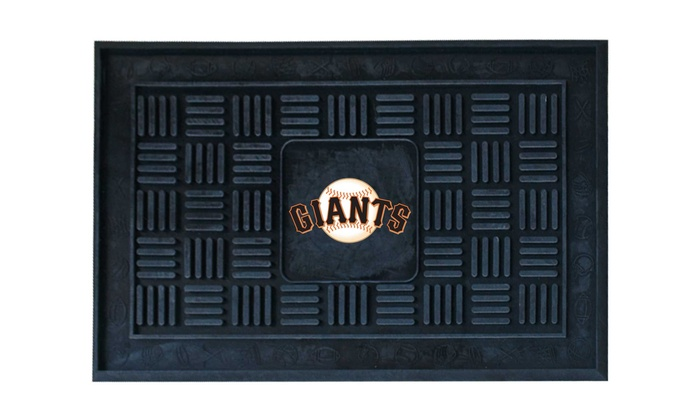 "San Francisco Giants Vinyl 19""x30"" Doormat: San Francisco Giants Vinyl 19""x30"" Doormat"