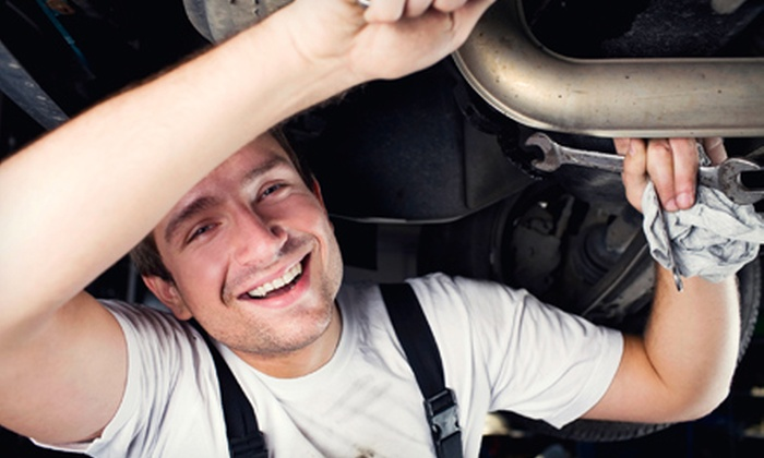 Quality Auto Glass - Quality Automotive: Oil Change, Tire Rotation, and Brake Inspection, or $49 for $100 Toward Auto-Repair Services at Quality Auto Glass