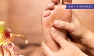 True Grace Spa & Nail: Reflexology Massage with Gel Soak and Optional Pedicure and Body Massage at True Grace Spa & Nail (Up to 71% Off)