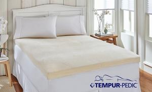 Closeout Tempur Pedic Memory Foam Mattress Topper Groupon