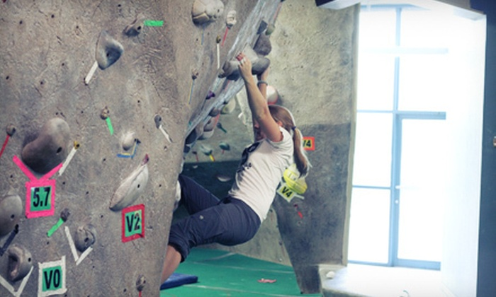 Boulders Climbing Gym - Hawthorne: Indoor Rock Climbing at Boulders Climbing Gym (Up to 79% Off). Four Options Available.