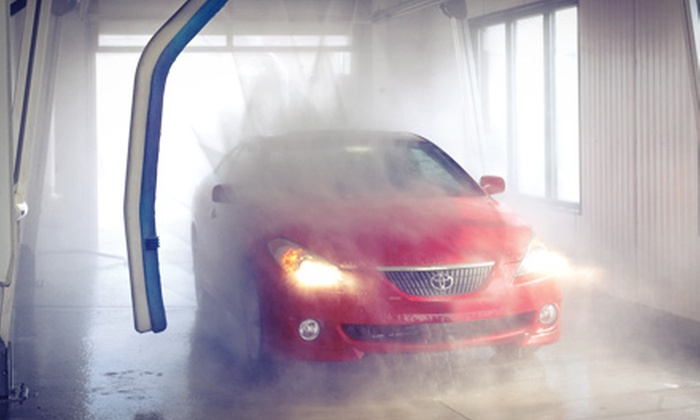 Wet Willy's Car Wash - Colonie: 5 or 10 Touchless Super or Ultimate Car Washes at Wet Willy's Car Wash (Up to 52% Off)
