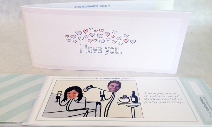 Datevitation: Personalized Love Coupon Book from Datevitation