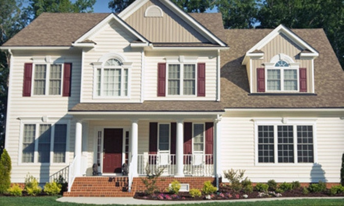 A Plus Power Washing - Indian Trail: Power Washing for a One- or Two-Story House  from A Plus Power Washing (Up to 53% Off). Four Options Available.