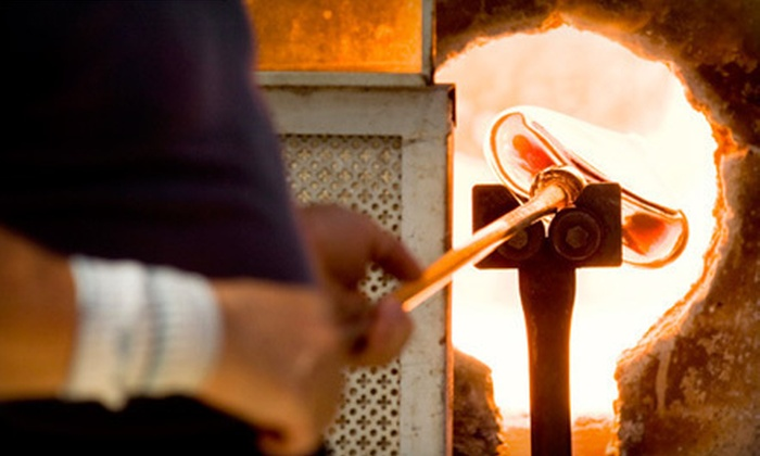 Daggett Glass Studio - Loveland: Introductory Glass-Blowing Class for One or Two at Daggett Glass Studio (Up to 54% Off)