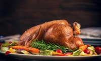 Four-Course Christmas or New Years Meal for One or Two at Como at Al Forsan International Sports Resort (Up to 38% Off)