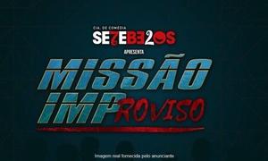 """Arco & Flecha Entretenimento: """"Missão Improviso""""  - Teatro dos Bancários: 1 ingresso"""
