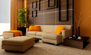 Color Clean Carpet Care: Carpet Cleaning  or Couch or Love Seat Cleaning from Color Clean Carpet Care (Up to 73% Off). Four Options.