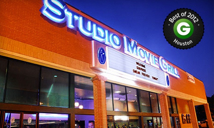 Studio Movie Grill - Multiple Locations: $5 for Movie and Soda at Studio Movie Grill (Up to $13.50 Value)