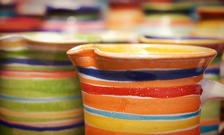 Pottery Class for One, Two, or Four at Dallas Handmade Arts Market, Inc (Up to 51% Off)