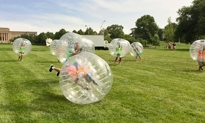 MA Sports Leagues - Winter Hill: Up to 51% Off Bubble Soccer Summer Leagues at MA Sports League