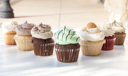 6 or 12 Cupcakes with Coffee or Milk and Cake Pops at Twist Cupcakes (Up to 43% Off)