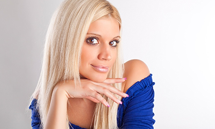 Le Rouge Hair Lounge - Petersburg: Haircut and Style with Optional Mini Highlights at Le Rouge Hair Lounge (Half Off). Three Options Available.