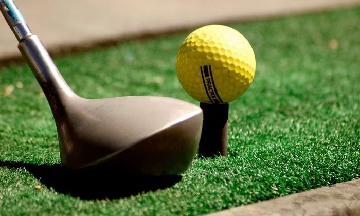 Mulligan's Island Golf & Entertainment Center - Cranston: $20 for $40 Worth of Range Balls, Mini Golf, and Batting Cages at Mulligan's Island Golf & Entertainment in Cranston
