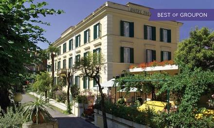 Fiuggi: Hotel Touring, 1 o 2 notti con colazione, ingresso spa e mezza pensione per 2 persone