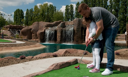 18-Hole Dragon Quest Adventure Golf For Two Adults or a Family of Four at World of Golf - Croydon (Up to 41% Off)