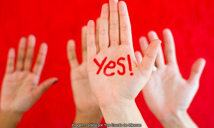Yes! Curso de Idiomas - Jundiaí: Yes! Curso de Idiomas – Jd Ana Maria: 6 ou 12 meses de curso de inglês ou espanhol a partir de 12x sem juros de R$ 58,25