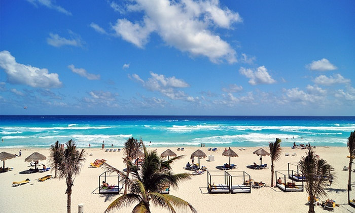 All-Inclusive Grand Oasis Cancun - Cancun, Mexico: All-Inclusive Stay at Grand Oasis Cancun in Mexico, with Dates into December. Includes Taxes and Fees.