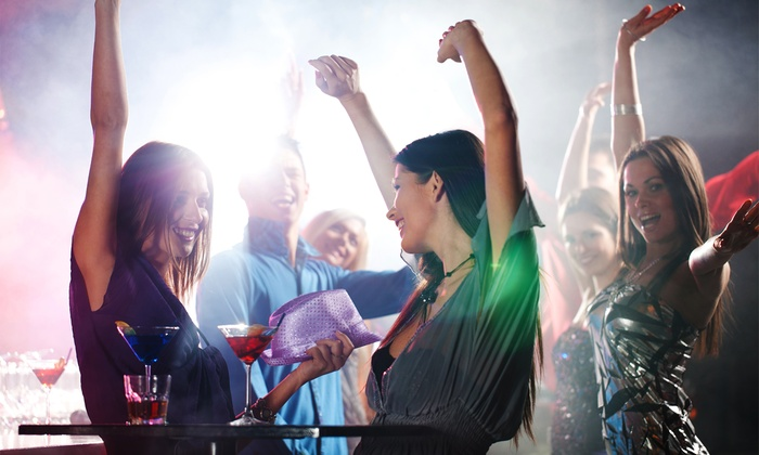 Pub Crawl - Midtown Drinkery: New Year's Eve Pub Crawl for One or Two from HoustonNewYearsEve.com (Up to 64% Off)
