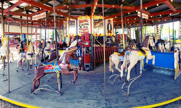 Kiddie Park San Antonio - Uptown Broadway: Unlimited Rides for Four at Kiddie Park (Up to 64% Off). Three Options Available.