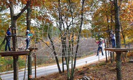 $25 for Crazy Apes Basic Challenge Package for Two at Seacoast Adventure ($50 Value)