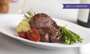 Esca: Fillet Steak with Wine for Two or Four at Esca (Up to 53% Off)