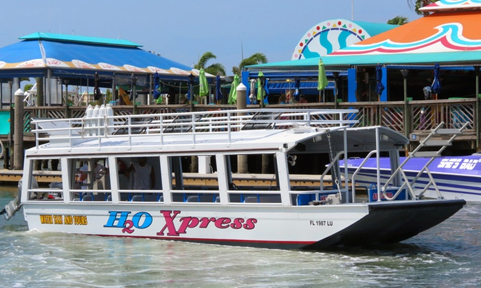 Water Taxi Express - Pons Grant: Water-Taxi Excursion for Two, Four, or Six from Water Taxi Express (Up to 51% Off)
