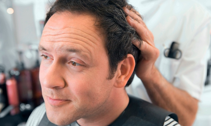 Esther at NY2LA Salon - Tarzana: Men's Haircut or Women's Haircut with Deep Conditioning or Root Touchup from Esther at NY2LA Salon (Up to 68% Off)