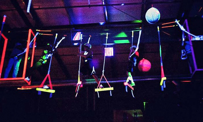 Bodies in Motion - Southeast Boise: Cosmic Ropes Course for Two or Four at Bodies in Motion (50% Off)